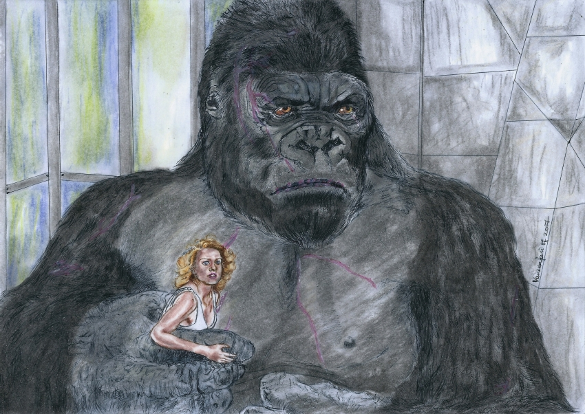 King Kong, Naomi Watts by Vanessafari